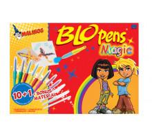 Воздушные фломастеры-аэрографы волшебные Malinos Magic 8+2+1 шт